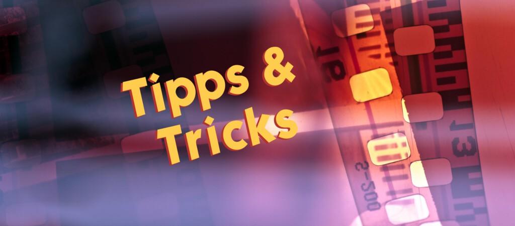 Beitragsbild Tipps & Tricks