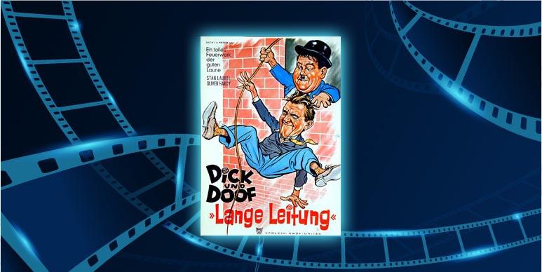 Filmplakat Die Klotzköpfe / Lange Leitung