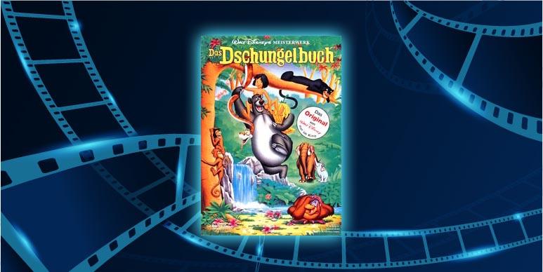 """Filmplakat von Walt Disney's """"Das Dschungelbuch"""""""