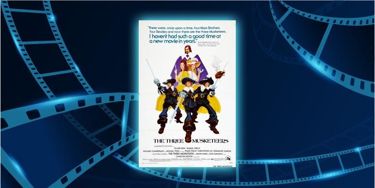 Filmplakat Die drei Musketiere