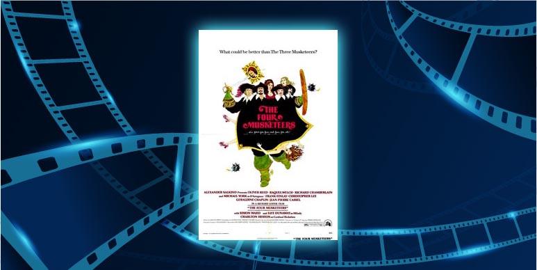 Filmplakat Die vier Musketiere - Die Rache der Milady