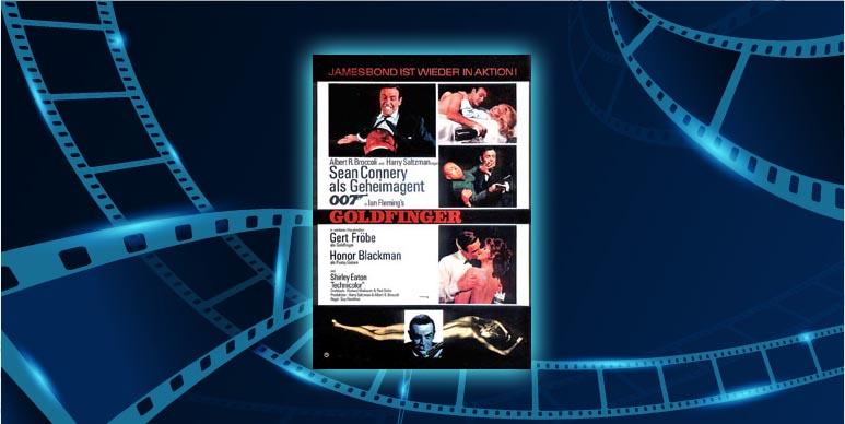 Filmplakat Goldfinger