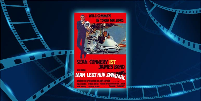 Filmplakat Man lebt nur zweimal