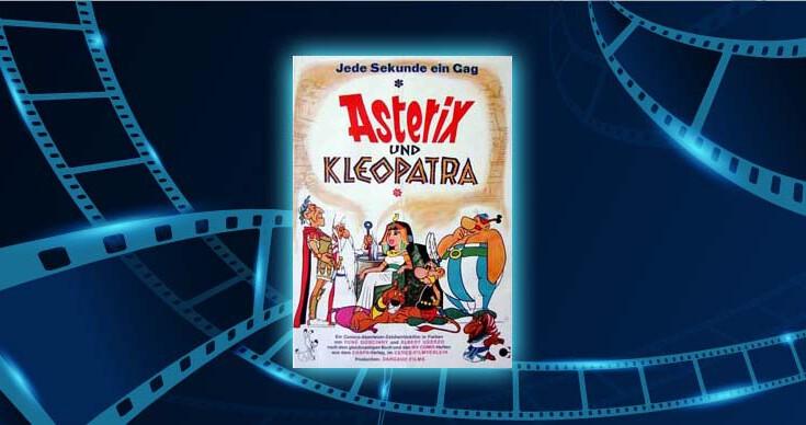 Fimlplakat Asterix und Kleopatra