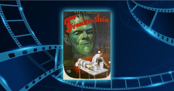 Fimlplakat Frankenstein