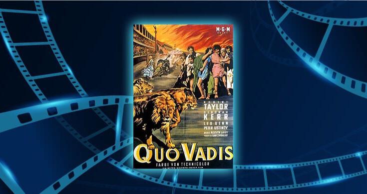 Fimlplakat Quo vadis