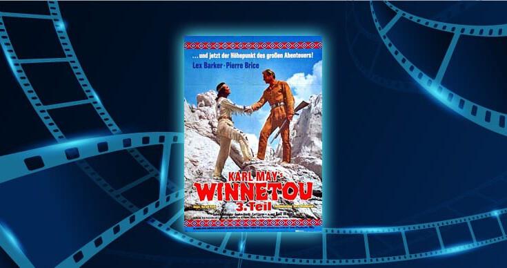 Fimlplakat Winnetou 3