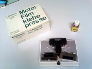 Hähnel Motor-Filmklebepresse mit Zubehör