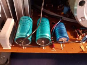 Bauer T520 duoplay (Eventuell defekte Kondensatoren auf Tonplatine)