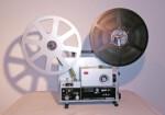 Elmo ST-1200 D magnetic & optical (Seitenansicht rechts mit Spulen)
