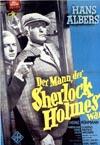 Filmplakat Der Mann, der Sherlock Holmes war