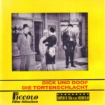 Front-Cover der Super 8-Kurzfassung von Dick & Doof: Die Tortenschlacht
