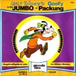 Front-Cover der Super 8-Kurzfassung von Goofy Jumbo-Packung