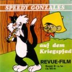 Front-Cover der Super 8-Kurzfassung von Speedy Gonzales: Speedy auf dem Kriegspfad