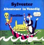 Front-Cover der Super 8-Kurzfassung von Sylvester & Tweety: Abenteuer in Venedig
