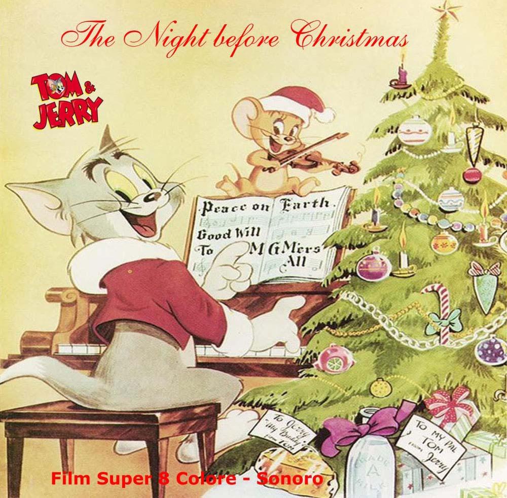 Front-Cover der Super 8-Kurzfassung von Tom & Jerry feiern Weihnachten
