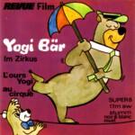 Front-Cover der Super 8-Kurzfassung von Yogi Bär im Zirkus