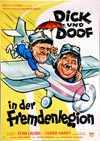 Filmplakat Dick & Doof in der Fremdenlegion