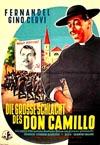 Fimlplakat Die große Schlacht des Don Camillo
