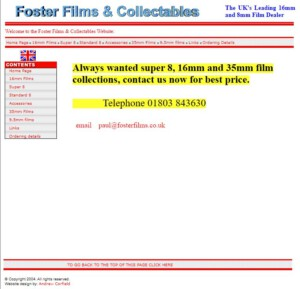 Screenshot Foster Films