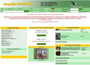 Screenshot mediavana