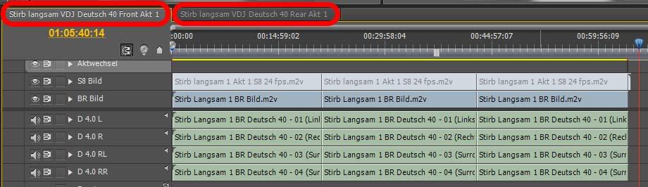 Sequenzen zum Export für VirtualDJ vorbereiten