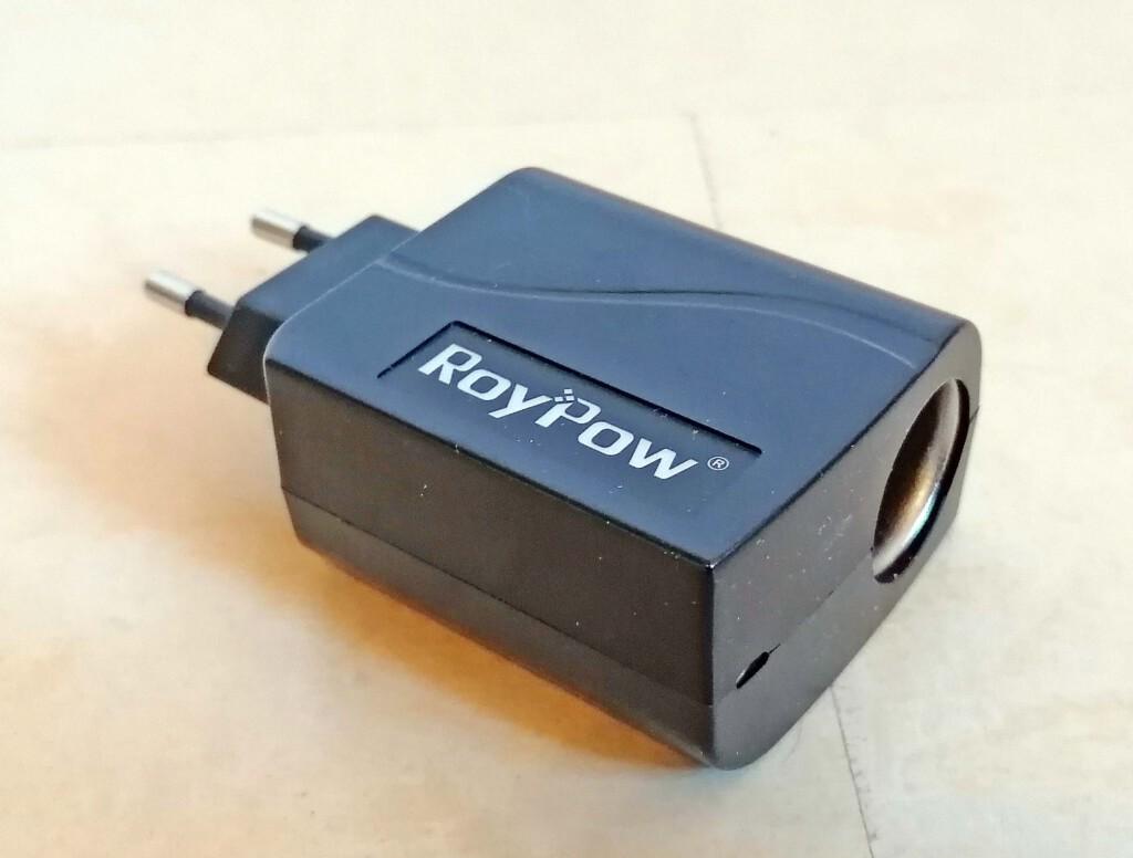 Adapter für 220V auf Zigarettenanzünder