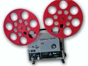 Foto der 440m-Spule im Lochdesign auf Elmo ST-1200D